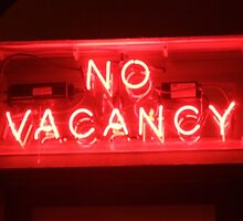 No Vacancy by Jennifer Mosher