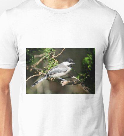 Chickadee Up Close Unisex T-Shirt