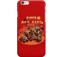 Super Max Kart! iPhone Case/Skin