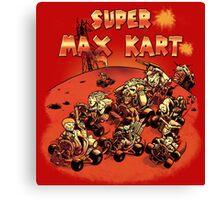 Super Max Kart! Canvas Print