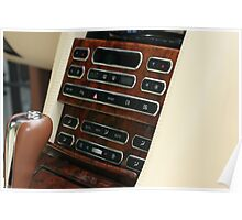 2008 Bentley AZURE Cabriolet Component Console Poster
