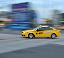 Cab on Flinders by Megs81