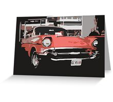 caddy Greeting Card
