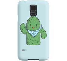 Mr J.G Cactus (sky) Samsung Galaxy Case/Skin