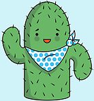 Mr J.G Cactus (sky) by Gubby and Nimbo