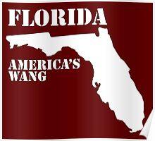 Florida, America's Wang Poster