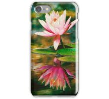 Tropical Water Lily  iPhone Case/Skin