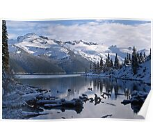 Early Winter at Garibaldi Lake 2 Poster
