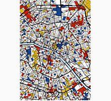 Paris Mondrian map Unisex T-Shirt