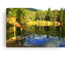 Joops Jetty Canvas Print