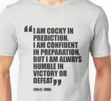 Conor McGregor - Quotes [Humble] Unisex T-Shirt