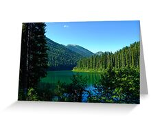 Lightning Lake 1 Greeting Card