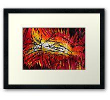 Nature Disaster Framed Print