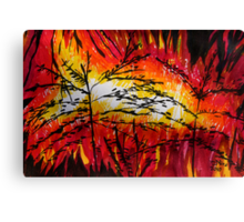 Nature Disaster Canvas Print