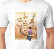 Cat Juggler Unisex T-Shirt