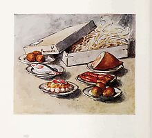 The Tale of Two Bad Mice Beatrix Potter 1904 0018 Beautiful Lobsters Ham Fish Pudding Pears Oranges by wetdryvac