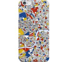 London Mondrian map iPhone Case/Skin