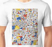 London Mondrian map Unisex T-Shirt