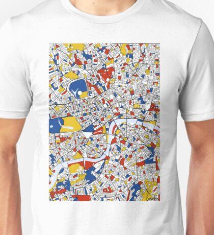 London Mondrian map Unisex T-Shirt