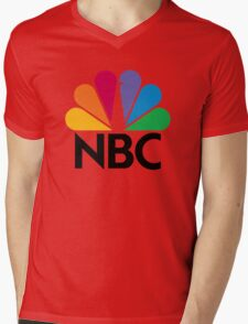 NBC Mens V-Neck T-Shirt