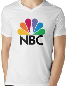 NBC Mens V-Neck T-Shirt
