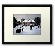 St Cuthbert's Dalmeny Framed Print
