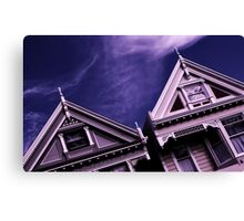 The Painted Ladies Canvas Print