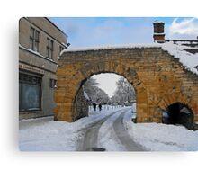 newport arch Canvas Print
