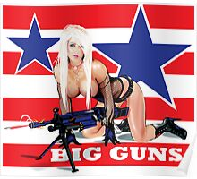 Cammee Lee Big Guns Poster