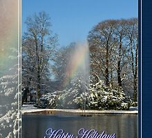 Rainbow Fountain - Happy Holidays by steppeland-2