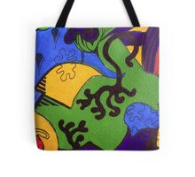 Tea for Two Abstract  Section 2  Tote Bag