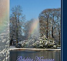 Regenboog Fontein - Gelukkig Nieuwjaar by steppeland-2