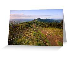 Malvern Hills : Autumn Berries Greeting Card