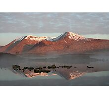 Rannoch reflections Photographic Print
