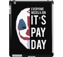 PAYDAY DRAGAN : WHITE iPad Case/Skin