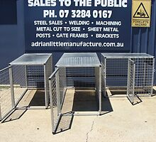 Strong Ute Dog Cage by deanlittle