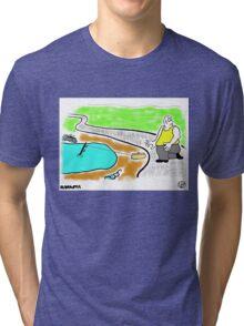 Fish Revenge. Tri-blend T-Shirt