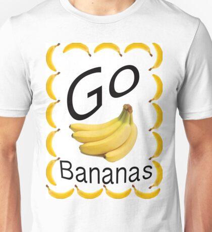 Go Bananas! Design no. 1 Unisex T-Shirt