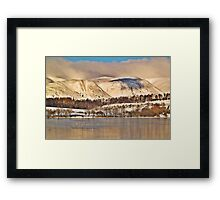 The Ochil Hills, Scotland. Framed Print