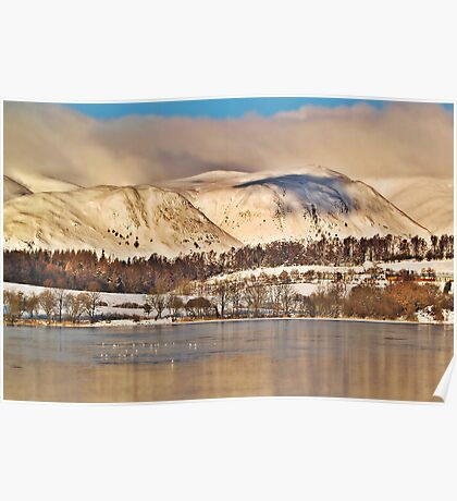 The Ochil Hills, Scotland. Poster