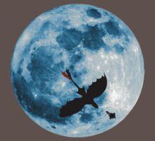 Full Moon Flight Baby Tee