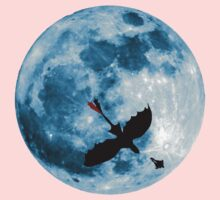 Full Moon Flight Kids Tee