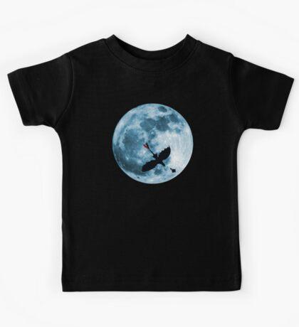 Full Moon Flight Kids Tee