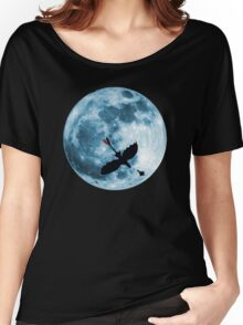 Full Moon Flight Women's Relaxed Fit T-Shirt