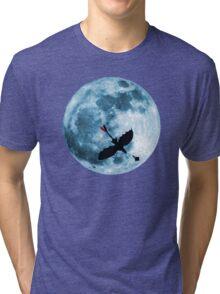 Full Moon Flight Tri-blend T-Shirt