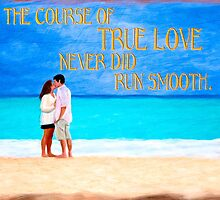 Shakespeare Quote On True Love by Mark Tisdale
