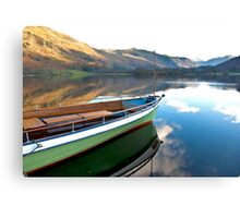 Sailing on Ullswater. Canvas Print
