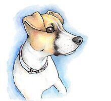 Puppy Portrait Photographic Print