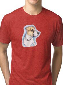 Puppy Portrait Tri-blend T-Shirt