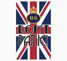 Don't Panic - Home Guard Baby Tee